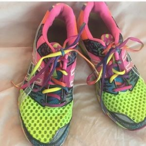 Ladies colorful shoes 9.5